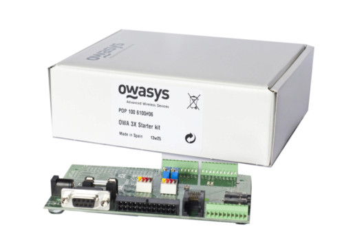 Accessories included with the Owa3X Development Kit