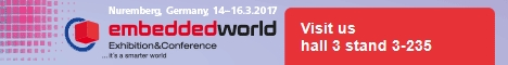 Owasys at Embedded World 2017 Nuremberg March 14-16th