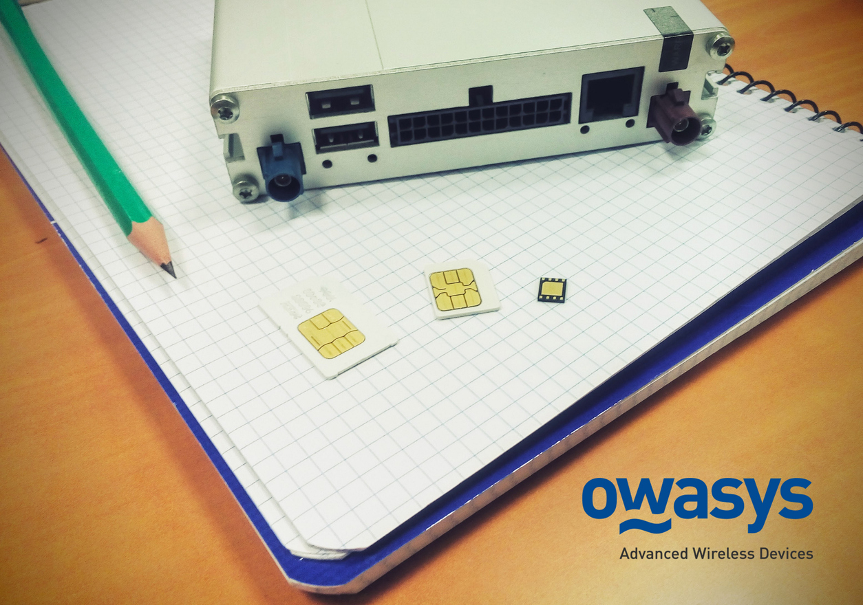 Owasys delivering the first prototypes with eSIM
